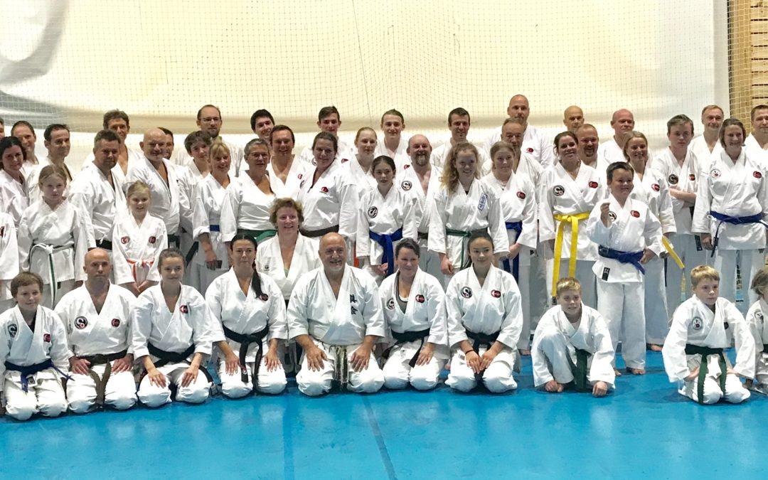 Samling i Strand Karateklubb 20-22.sep 2019